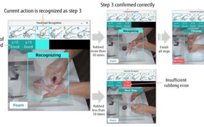 Fujitsu AI checkt of je je handen wel goed wast