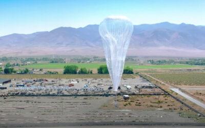 De internetballonnen van Google maken eerste commerciële vlucht in Kenia