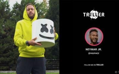 Digital transfer: Neymar van TikTok naar Triller